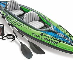 280 eur 2 persons Kayak Inflatable Set with Aluminum Oars and pump