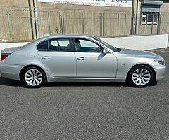 BMW 520D SE High Spec Sat Nav full black leather Nct  7/22 Tax 7/21 immaculate condition