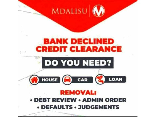 Removal of debt review or admin order and increase credit score - 1/2