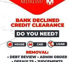Removal of debt review or admin order and increase credit score - Image 1/2