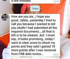 Removal of debt review or admin order and increase credit score - Image 2/2