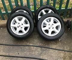 Wheels for sale €250 for the lot